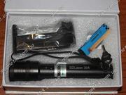 Cверхмощный прожигающий зеленый лазер 5000 mW (5 Вт) с фокусировкой