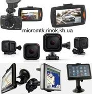 Видеорегистраторы мини камеры GPS трекеры диктофоны наушники умные часы и другие товары