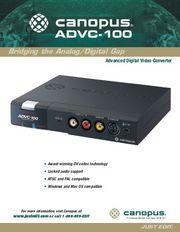 Canopus ADVC-100
