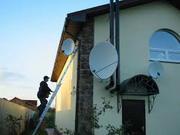 Установка спутникового ТВ в Малиновском районе г. Одессы.
